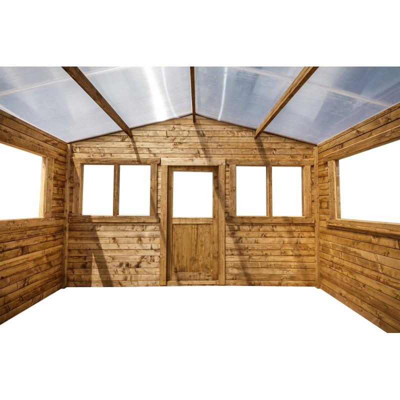 gardy shelter gewachshaus aus