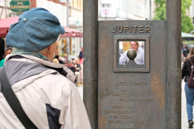 Der Göttinger Planetenweg: der Jupiter