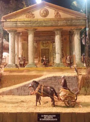 Römischer Palast der Weihnachtskrippe
