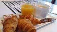 Frühstück im Ibis Hotel