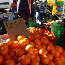 Orangen 5kg 3 Euro