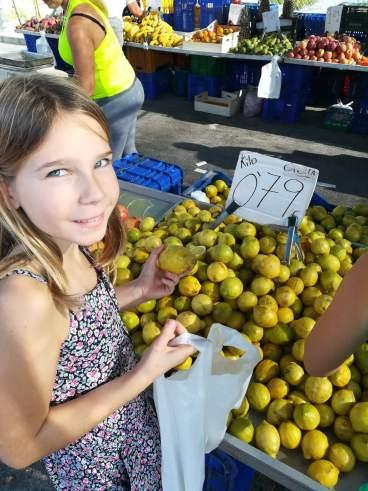 Limonen müssen auch mit
