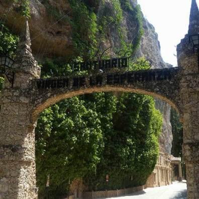 Sanktuarium Eingang