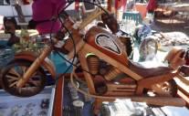 Eine Holzharley