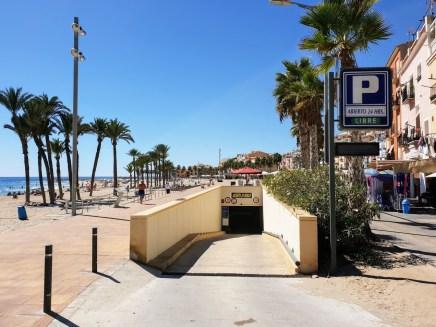 Tiefgarage am Strand Paradise Beach