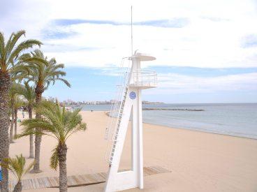 Alicante am Strand