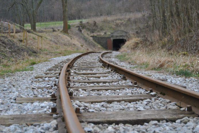 Auch die Schienen hat die Gemeinschaft eigenhändig verlegt