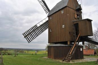 Die Bockwindmühle in Abbenrode (2)