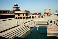 Fatehpur Sikri - die verlassene Stadt