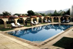Luxuriöses Oberoihotel in Jaipur