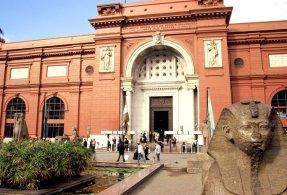 Das berühmte ägyptische Nationalmuseum