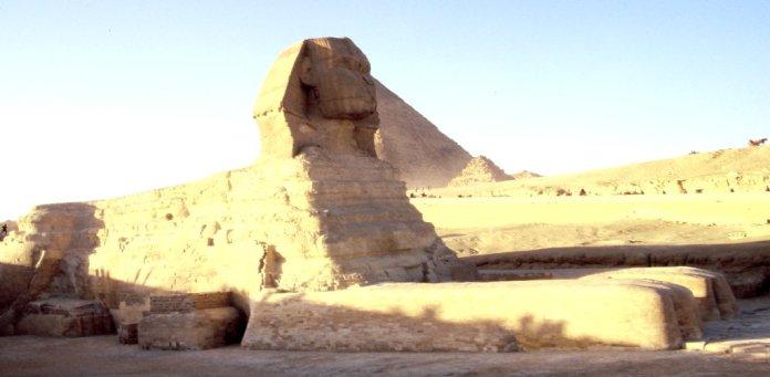 Gewaltige Sphinx
