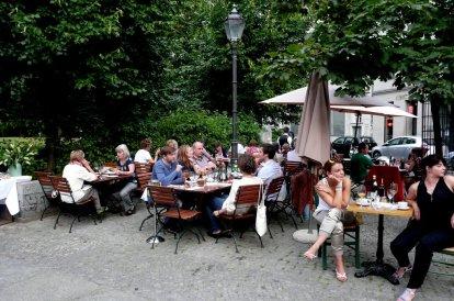 Restaurant Simon, Berlin Biergarten