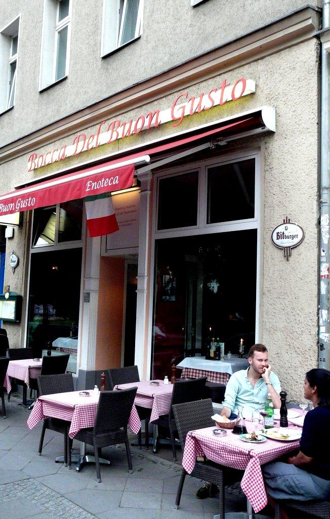 Trattoria Pizzeria Bocca Del Buon Gusto, Berlin
