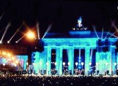 Brandenburger Tor 25 Jahre Mauerfall