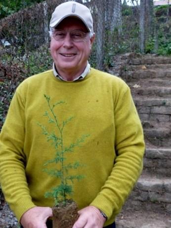 Klaus Weidner in Darjeeling