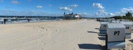 Usedom - Wunderbarer Sandstrand bei Ahlbeck