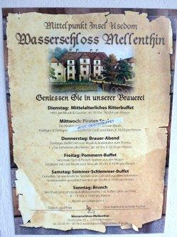 Udedom - Wasserschloss Mellenthin