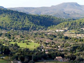 Blick von der Burg von Arta