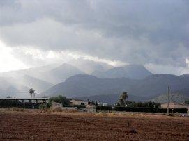 Blick in die Berge bei Inca