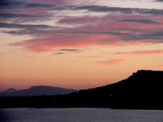 Abendstimmung in der Bucht von Son Severa
