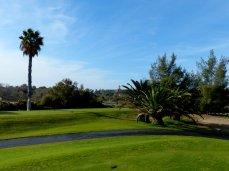 Blick vom Maspalomas Golfplatz auf Maspalomas