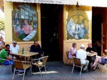 Geruhsames Cafe