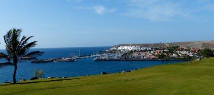 Meloneras Golf, Blick auf Pasito Blanco