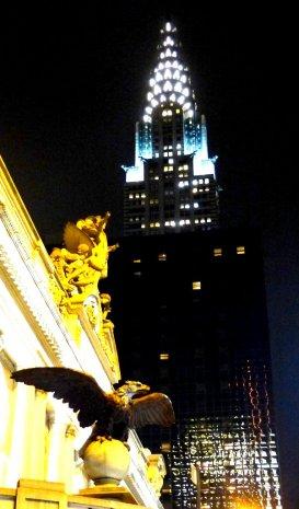 Central Station und Chrysler Building
