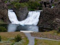 Ein weiterer Wasserfall zum Trost - Island