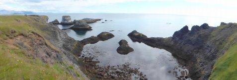 Bizarre Küste bei Hellnar - Island