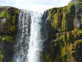 Wasserfall Öxarafoss - Island