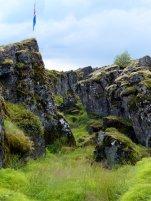 Spalte zwischen Europa und Amerika - Island