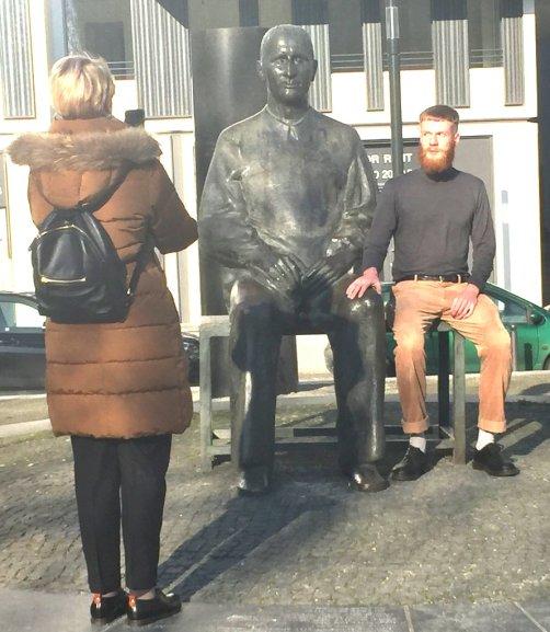 Brecht mit Jünger
