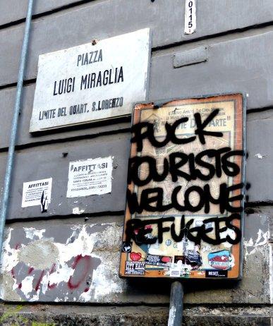 Politische Street Art