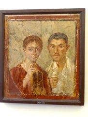 Paar aus Pompeji