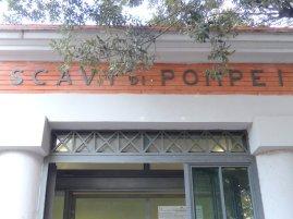 Eingang Pompeji