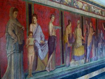 Fresken in Villa
