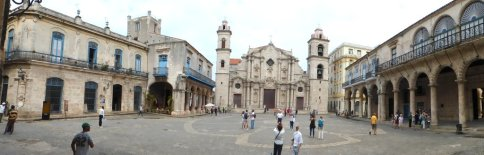 Placa Vieja in Havanna
