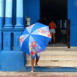 Trinidad im Regen
