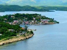 Blick auf das malerische Punta Gorda