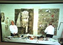 Kentridge und Ägypten