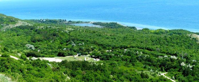 Panoramablick auf dem Lighthouse Golfclub