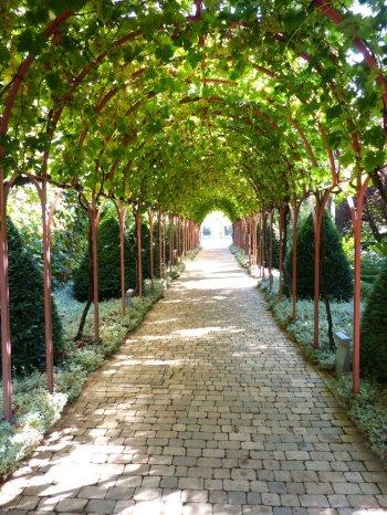Eingang zum Weingut Los Herederos del Marques de Riscal