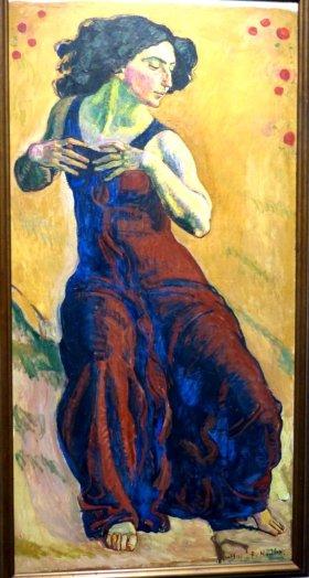 Ferdinand Hodler, Entzücktes Weib