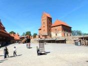 Im Inneren der Burg