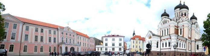 Parlament mit Alexander Newski Kathedrale