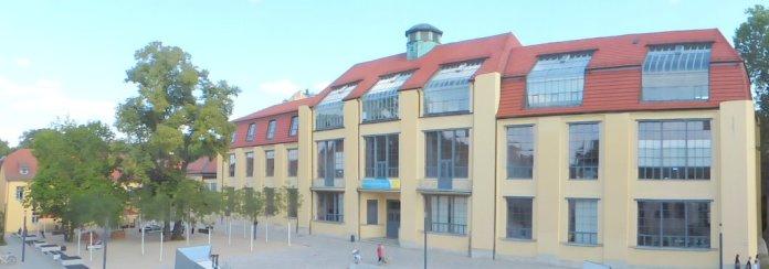 Hauptgebäude der Bauhausuniversität