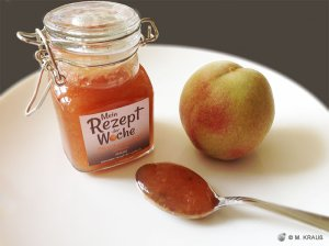 Pfirsich-Marmelade