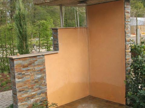 outdoor dusche selber bauen gartendusche: planung und tipps - mein schöner garten